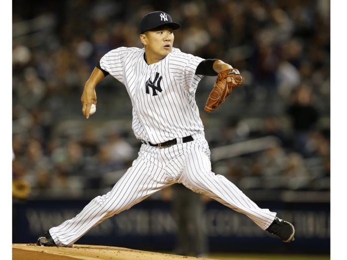 MLB/避免頭部再受重擊 田中將大將戴「神之頭盔」