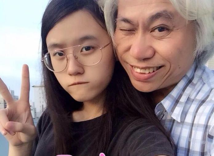 ▲預計明年11月登記結婚,李坤城(右)坦承想拚生女兒。(圖/翻攝自林靖恩臉書,2015.6.12)