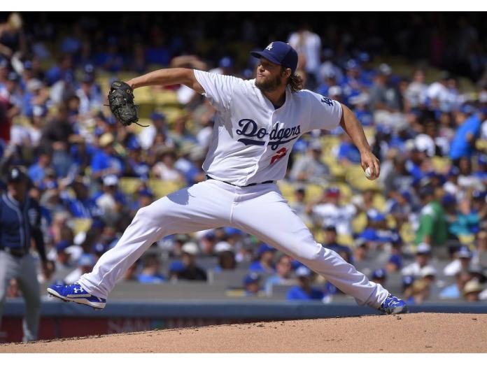 MLB/鬼神<b>柯蕭</b>投出代表作 道奇完封勇士系列賽領先