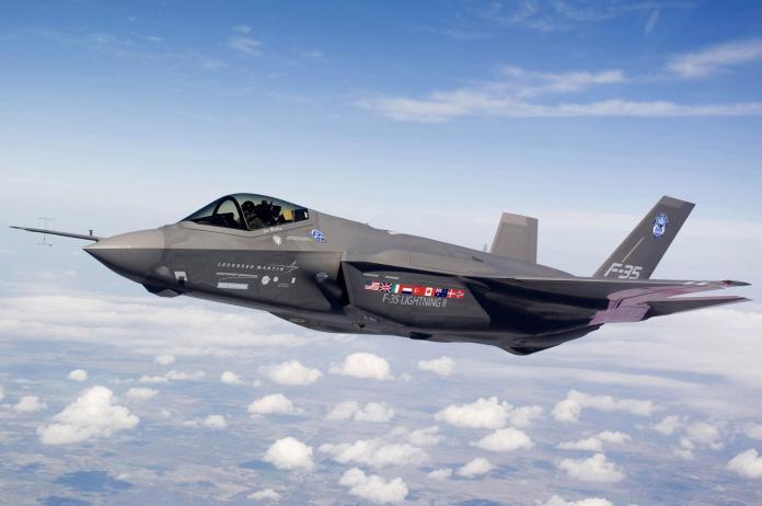 ▲美國空軍F-35A隱形戰機。(圖/美國空軍)
