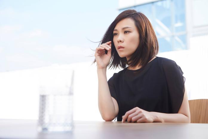 ▲蔡健雅拍攝《失語者》MV。(圖/亞神提供,2015.11.18)