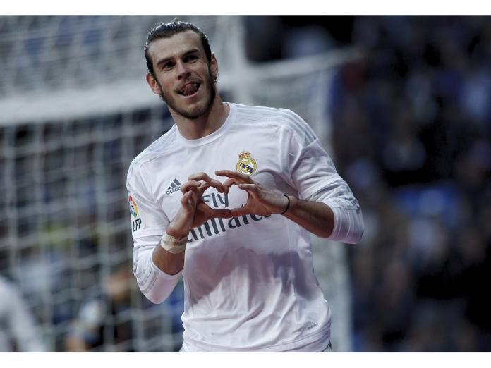 威爾士明星前鋒Gareth Bale單場打進4球外帶1助攻。(圖/美聯社/達志影像)