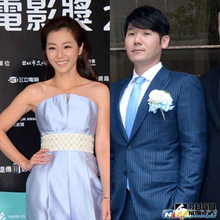 ▲陳怡蓉(左)與薛博仁(右)交往穩定,已於信義區豪宅同居試婚。(合成圖/資料庫)