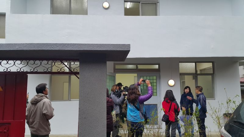▲新店國小舊宿舍修復 未來可望規劃為地方文化園區