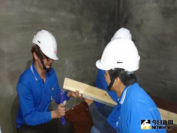 工會專業志工 免費為低收入受災戶修繕房屋