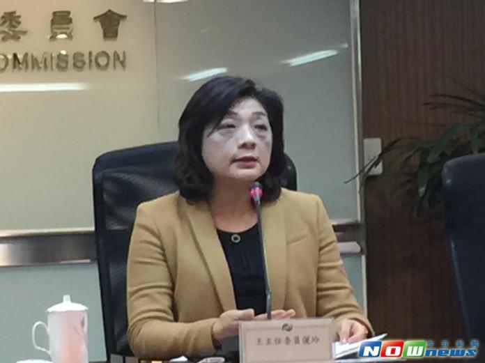 金管會新任主委王儷玲。(圖/記者顏真真攝,2016.2.2)