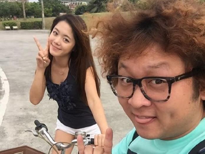 ▲納豆(右)、林千又疑似已分手。(圖/擷自納豆臉書粉絲頁,2015.11.20)