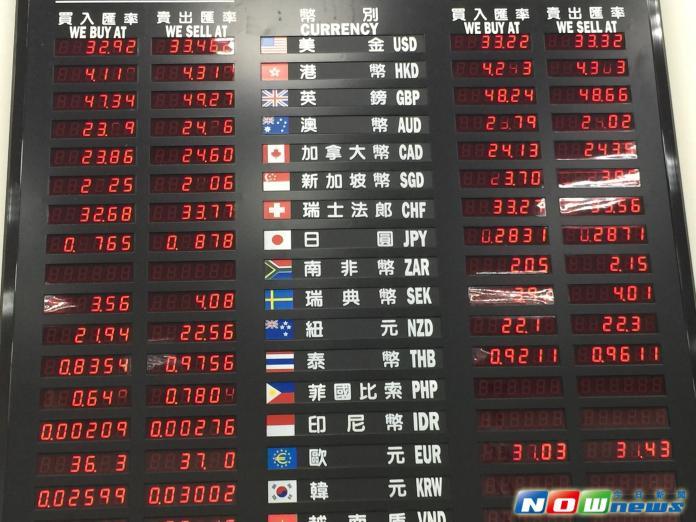 亞洲貨幣兌美元表現也牽動新台幣匯率走勢。(圖/記者顏真真攝,2016.2.5)