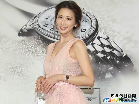 林志玲出席活動,總是被問及男友結婚問題,令她壓力相當大。(記者陳明安攝。2016.04.29)