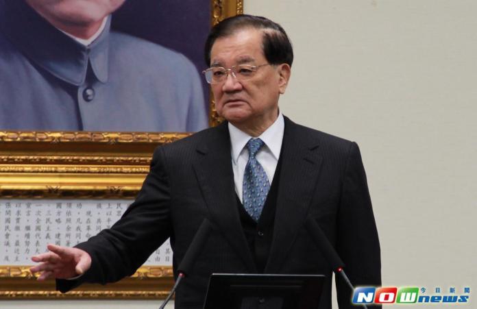 韓國瑜出線後,國民黨前主席連戰發表聲明,樂見韓國瑜出線。 (圖/NowNews資料照)