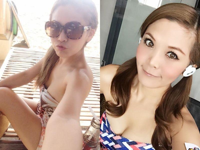 ▲DJ圓圓遭強國女童賞巴掌。(合成圖/擷自Dj圓圓臉書粉絲頁,2016.06.23)