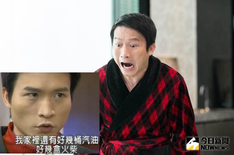 ▲秦楊目前只能演演主角的爸爸,已不復當年「劉文聰」的霸氣。(合成圖,2016.06.24)
