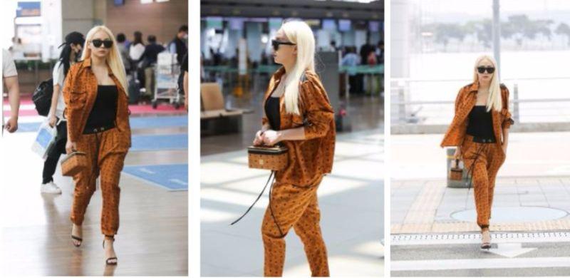 ▲機場時尚直擊!韓國天團2NE1隊長CL這樣穿最時髦?(圖/公關提供)
