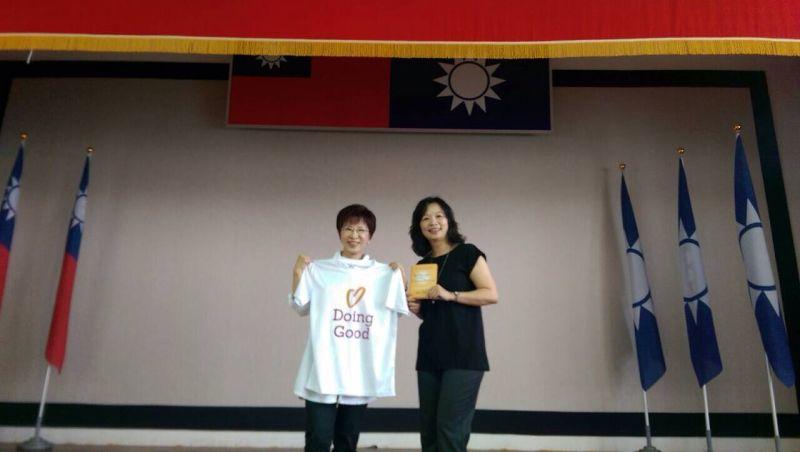 ▲加強社會服務 KMT志工訓練 柱柱姐來上課。(圖/公關照片)