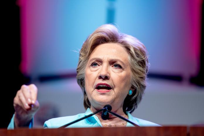 ▲民主黨總統候選人希拉蕊(Hillary Clinton)。(圖/達志影像/美聯社)