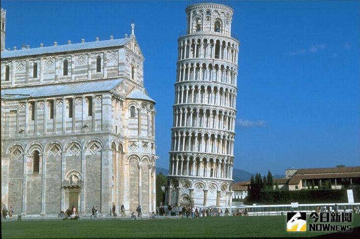 ▲歷史上的今天/義大利比薩大教堂的鐘樓開始建造,成為比薩斜塔。(圖/翻攝自網路)