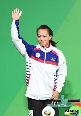 里約奧運女子舉重58公斤級賽事8日(當地時間)舉行,台灣舉重好手郭婞淳(圖)登場,爭取佳績。中央社記者張新偉里約攝 105年8月9日