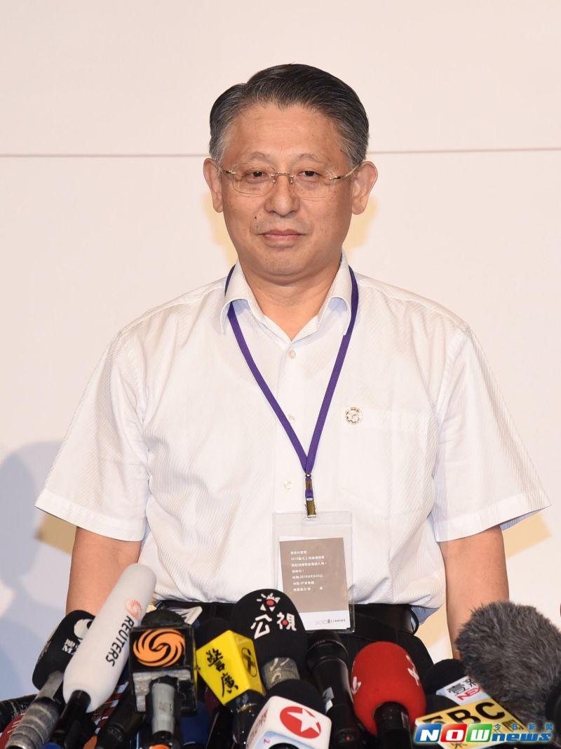 ▲上海市長代表沙海林23日表示,這次來台灣確實聽到不少反對的聲音,但他聽到更多的聲音是支持和歡迎。(圖/記者陳明安攝,2016.8.23)