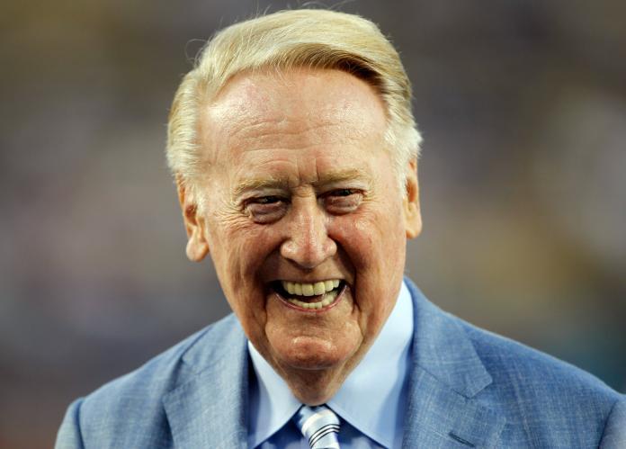 MLB/驚!92歲傳奇播報員「道奇之聲」 驚傳家中跌倒