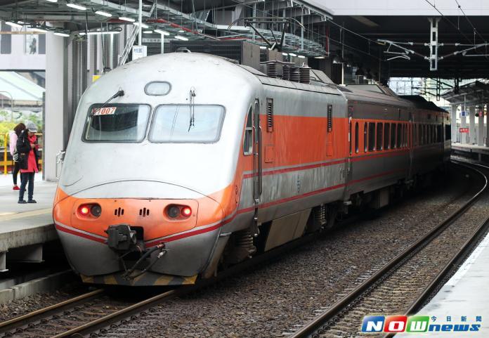 ▲台鐵172次自強號已放行。(圖/Nownews攝影中心)