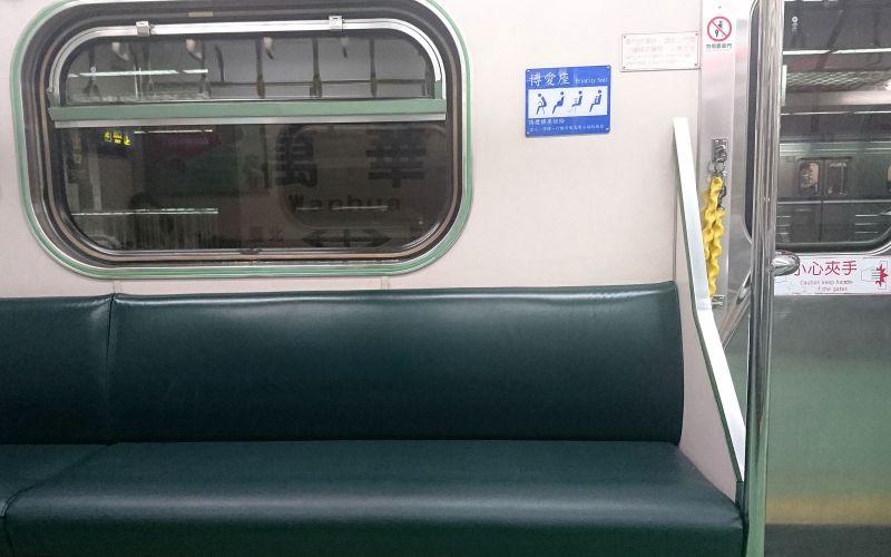 20160909博愛座-火車(區間車)