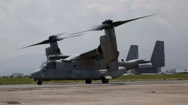▲美軍V-22魚鷹機。(圖/美國國防部)