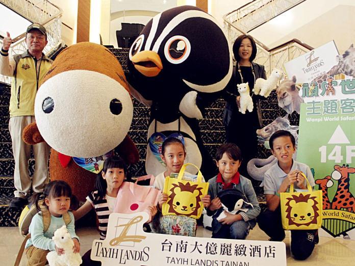 ▲台南大億麗緻酒店與頑皮世界跨界合作,推主題客房。