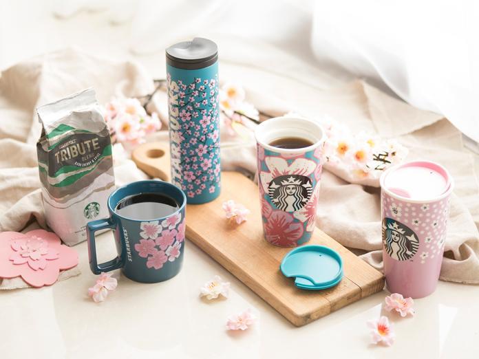 ▲星巴克的櫻花季限定商品常掀起搶購熱潮。(資料圖/星巴克提供)