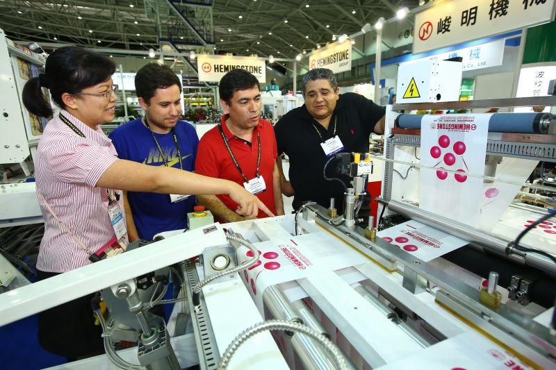▲「2016年台北國際塑橡膠工業展」(Taipei PLAS)閉幕,東協市場與歐洲買主認為,台灣產品的性價比高、品質很好,有興趣擴大採購。(圖/外貿協會提供)