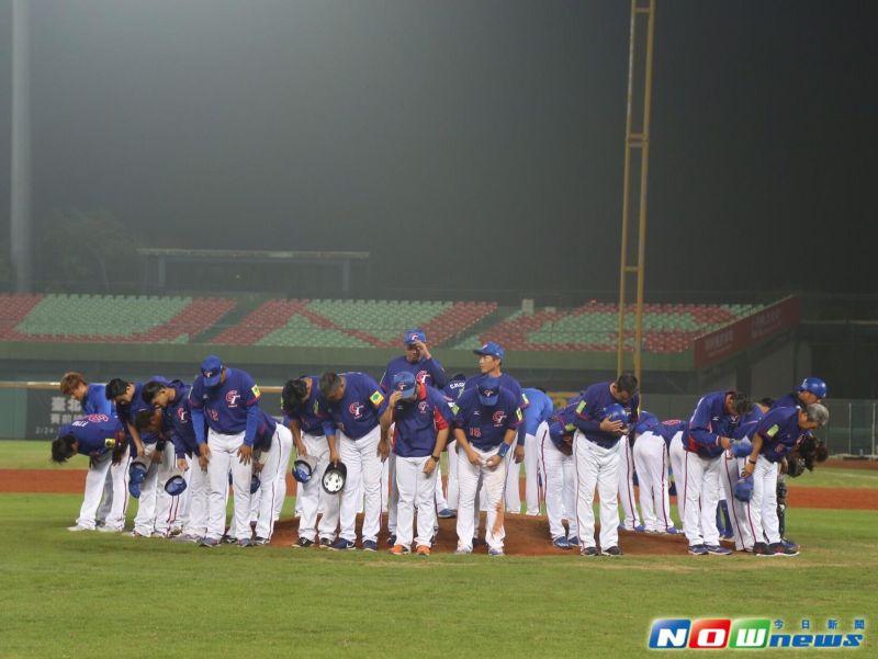 ▲中華隊結束台灣熱身賽。(圖/葉政勳攝)