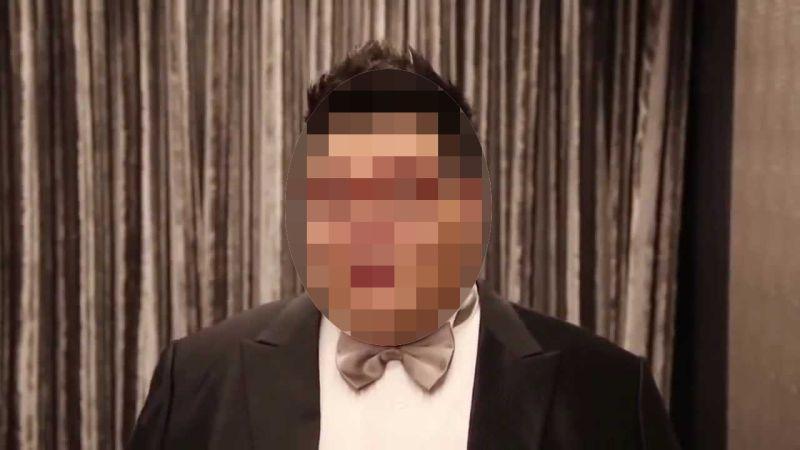 ▲W飯店命案關係人,疑似娶東吳正妹的土豪哥。(圖/翻攝自youtube)