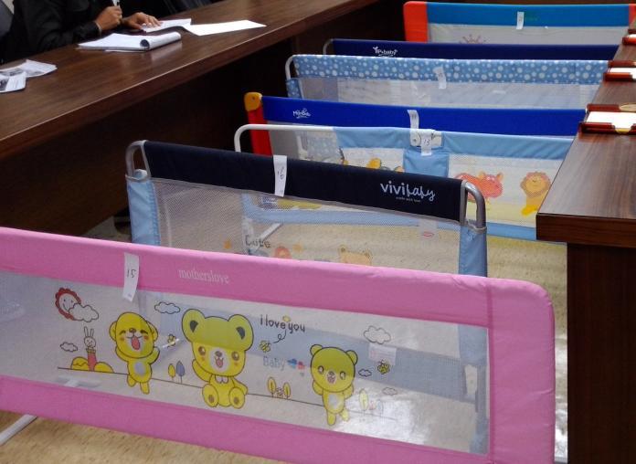 爸媽注意!消保處抽驗10件兒童用床邊護欄 有2件不合格