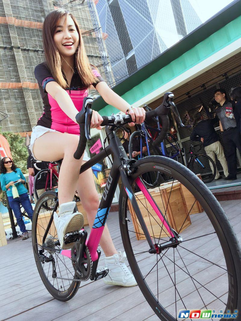 ▲單車業者也進駐亞洲新灣區「集盒‧KUBIC」貨櫃聚落。(圖/記者宋德威攝,2017.3.31)