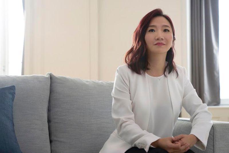 ▲陶晶瑩每個人生階段對台灣女生來說都是一則美好的寓言。(圖/蘭蔻提供)