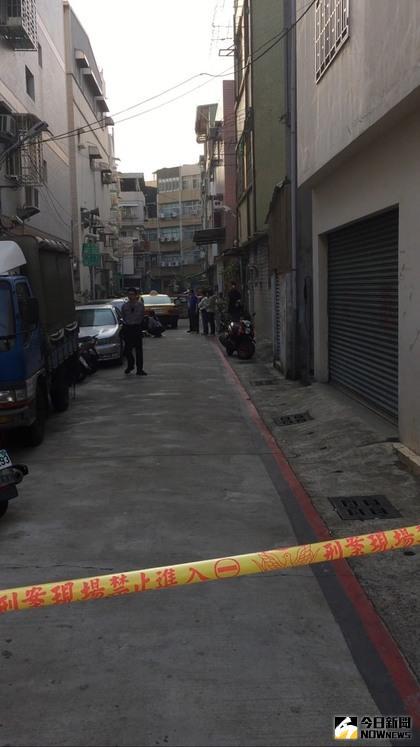 ▲現場已拉起封鎖線,警將作進一步調查。(圖/社會中心翻攝)