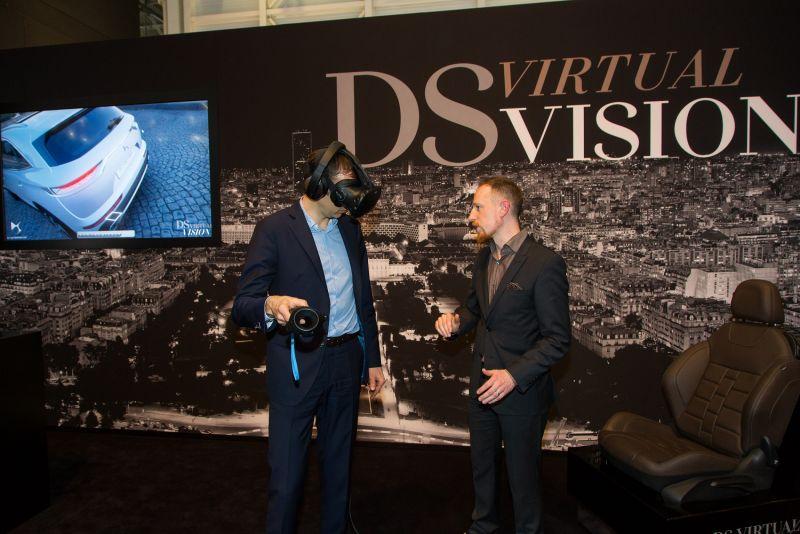 ▲以達梭系統3DEXPERIENCE平台為基礎,DS Automobiles使用Virtual Garage為DS 7 CROSSBACK和所有車款提供DS Virtual Vision 的沉浸式體驗。(圖/公關公司提供)