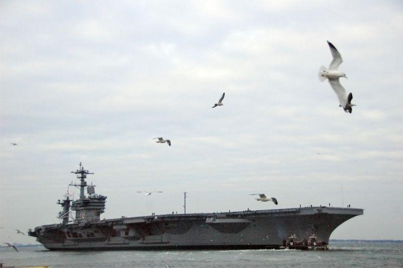 ▲美國海軍航空母艦卡爾文森號(USS Carl Vinson CVN-70)。(圖/美國海軍)