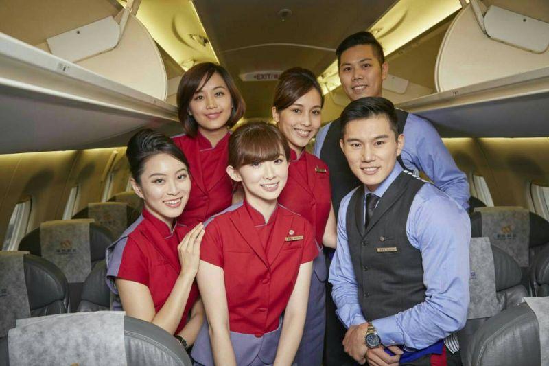 ▲華信航空舉辦空服員招募,即日起開放網路報名。(圖/華信航空)