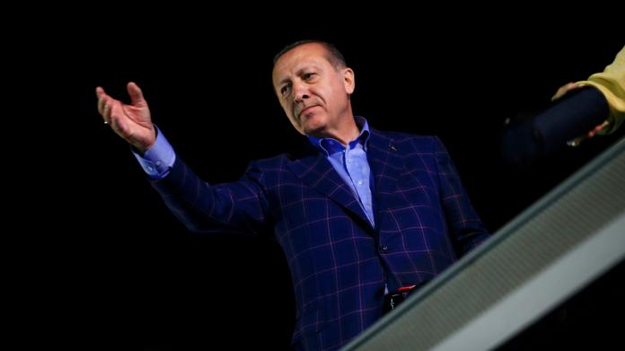 ▲土耳其總統艾爾段。資料照。(圖/達志影像/美聯社)