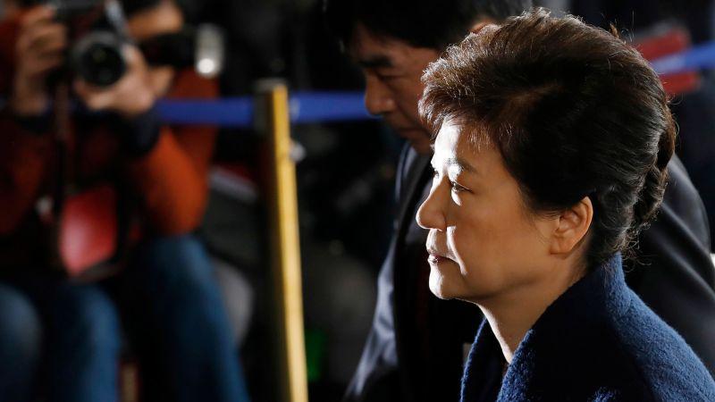 ▲南韓檢方17日正式起訴前總統朴槿惠。(圖/達志影像/美聯社)