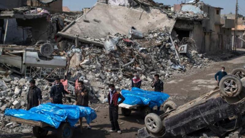 ▲美國與盟國在伊拉克與敘利亞空襲IS的行動中,已造成352名平民喪生。(圖/達志影像/美聯社)