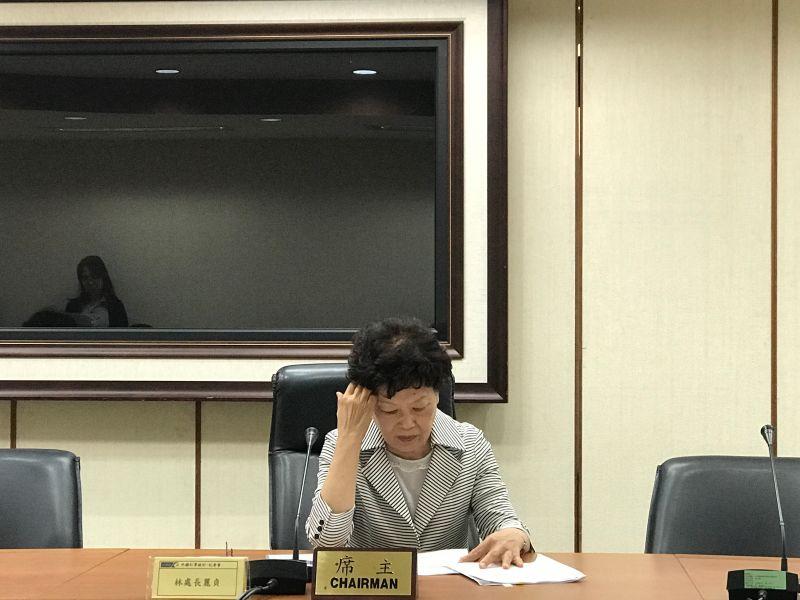 ▲經濟部統計處長林麗貞。(圖/楊寧芷攝,2017.5.22)