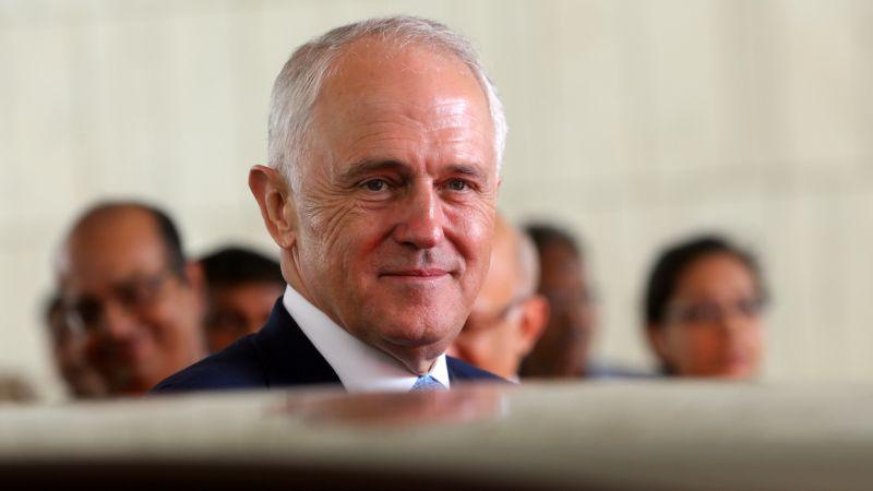 ▲澳洲總理滕博爾將在4日出訪美國,與美國總統川普進行會晤。(圖/達志影像/美聯社)