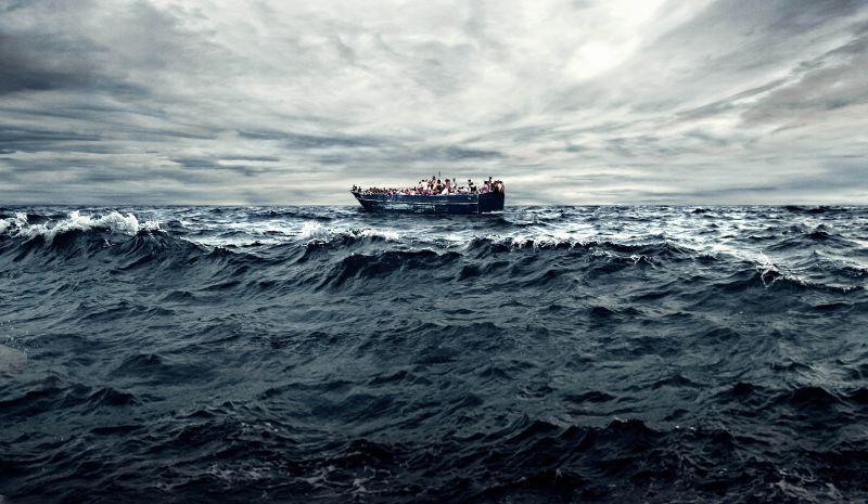 ▲《海上焰火》是一部關於難民議題的紀錄片。(圖/前景,2017.05.01)