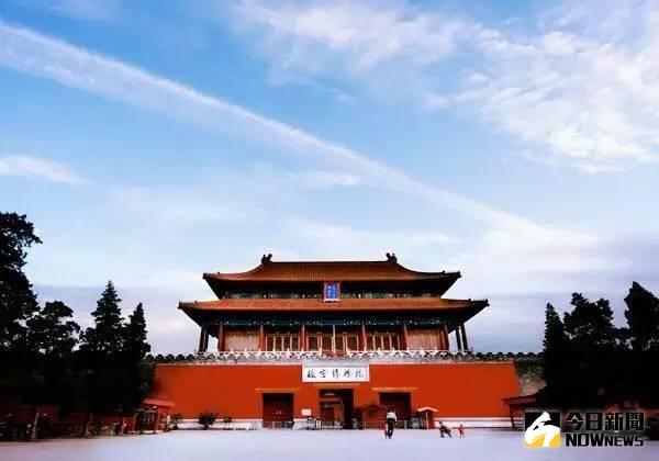 北京故宮博物館。