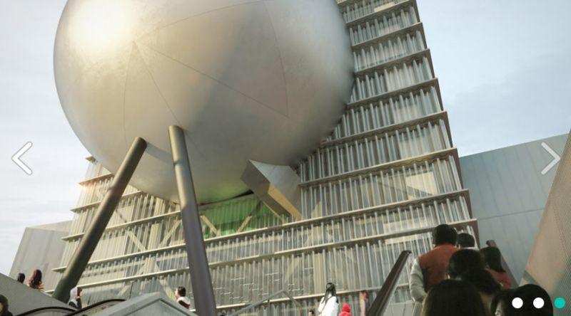 ▲台北藝術表演中心工程停擺。(圖/翻攝自網路)