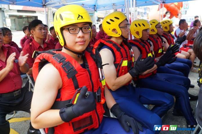 炎夏戲水樂消暑 竹縣消防局宣導<b>水域安全</b>