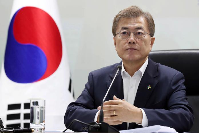 ▲韓國總統文在寅將於5月21日在白宮與美國總統拜登會談。資料照。(圖/達志影像/美聯社)
