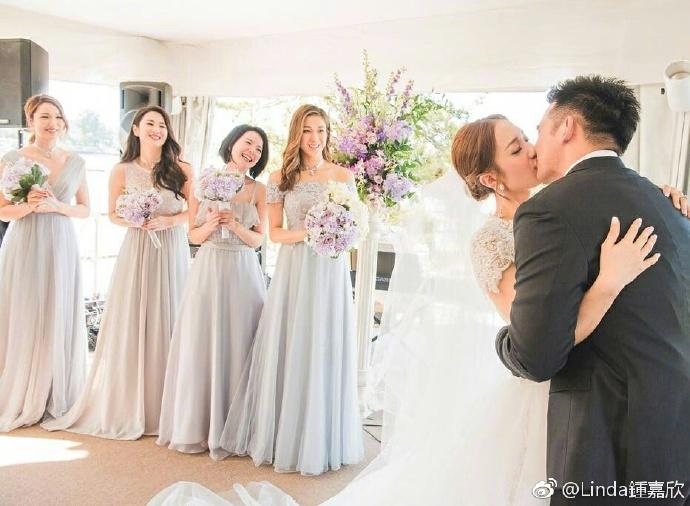 ▲王君馨的婚禮浪漫而溫馨,感動許多來賓。(圖/翻攝自王君馨微博,2017.06.14)