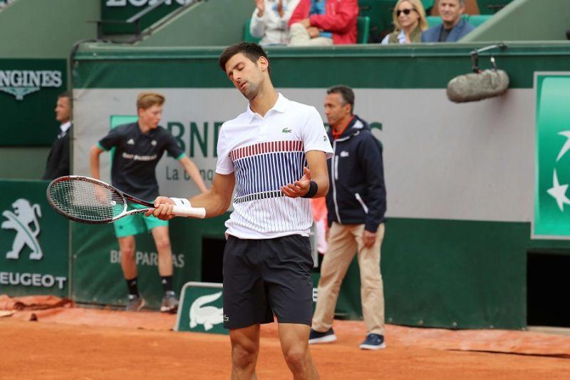 ▲衛冕冠軍Novak Djokovic在8強戰便遭淘汰出局。(圖/美聯社/達志影像)